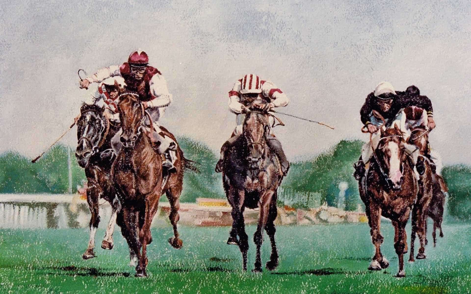 horse-racing-artist-gary-drew-uk