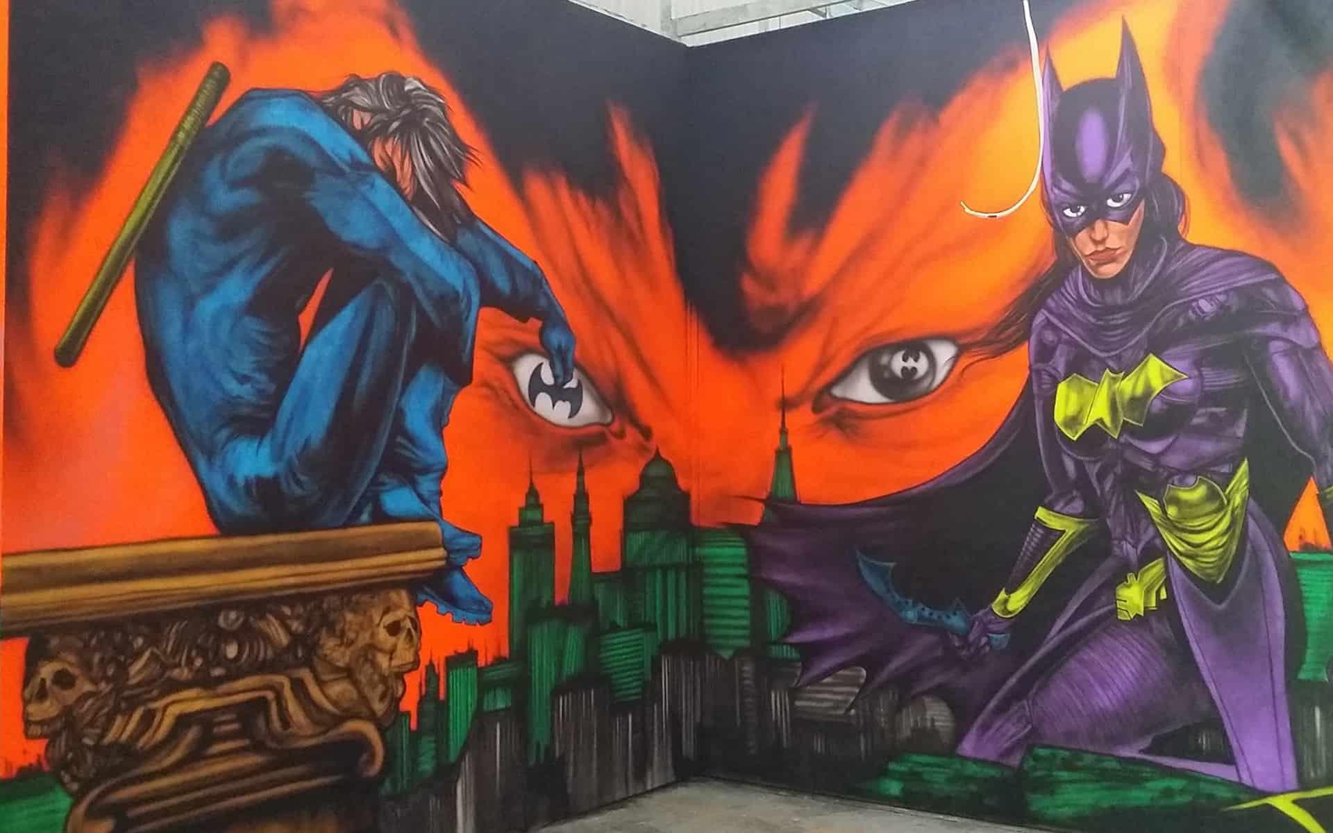superhero-mural-north-wales-gary-drew